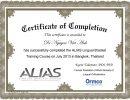 certificate ALIAS